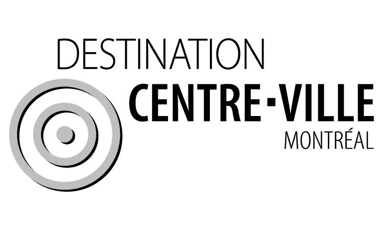 Logo Destination Centre-Ville de Montréal